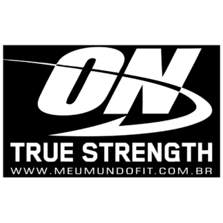 Adesivo Optimum Nutrition Meu Mundo Fit - Optimum