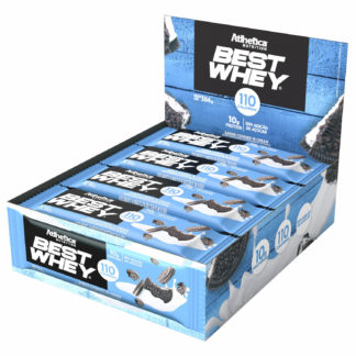 Best Whey Bar (12 Barras de 30g Cookies & Cream) Atlhetica Nutrition