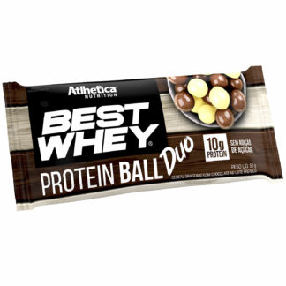 Best Whey Protein Ball (50g Chocolate Branco + Chocolate ao Leite) Atlhetica Nutrition