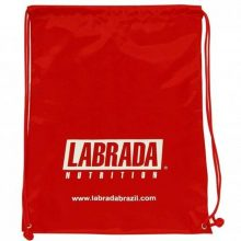 Bolsa Gym Bag (Vermelha) Labrada Nutrition