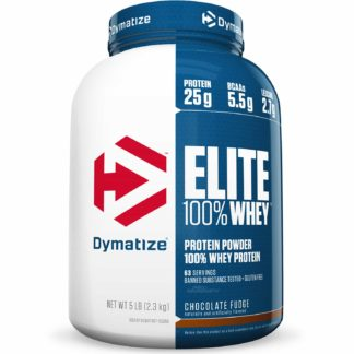 Elite Whey Protein (2,3kg Chocolate Fudge) Dymatize Nutrition