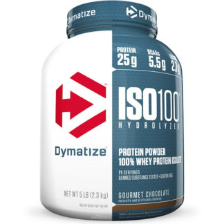 ISO 100 Whey Isolado (2,3kg Chocolate Gourmet) Dymatize Nutrition