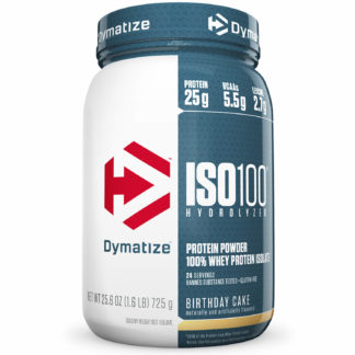 ISO 100 Whey Isolado (725g) Birthday Cake Dymatize Nutrition