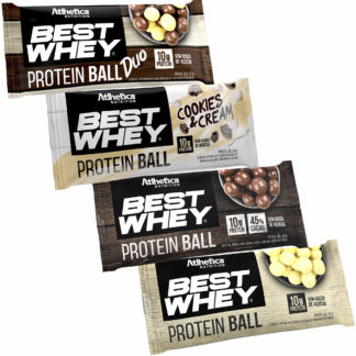Kit Best Whey Protein Ball (Mix de Sabores) Atlhetica Nutrition