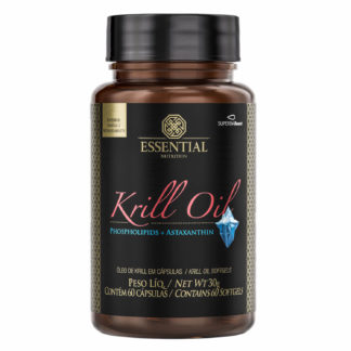 Oléo De Krill (60 Caps) Essential Nutrition