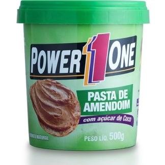Pasta de Amendoim com Açúcar de Coco (500g) Power1One
