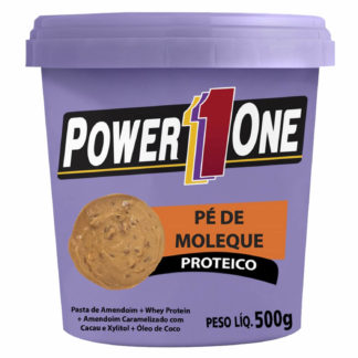 Pé de Moleque Proteico (500g) Power1One