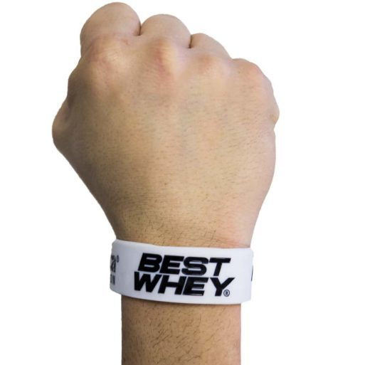 Pulseira Best Whey (White no Pulso) Atlhetica Nutrition