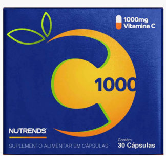 Vitamina C 1000mg (30 caps) Nutrends