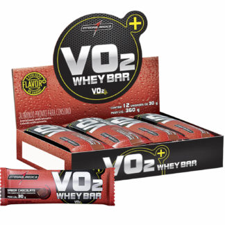 VO2 Whey Bar (12 barras de 30g Chocolate) Integralmédica