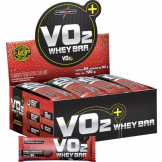VO2 Whey Bar (24 barras de 30g Chocolate) Integralmédica